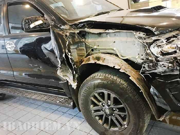 bảo hiểm bảo việt hỗ trợ xe ô tô bị tai nạn