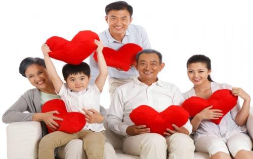 bảo hiểm gia đình, sức khỏe cho bé