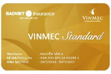thẻ bảo lãnh bảo hiểm bảo Việt Vinmec