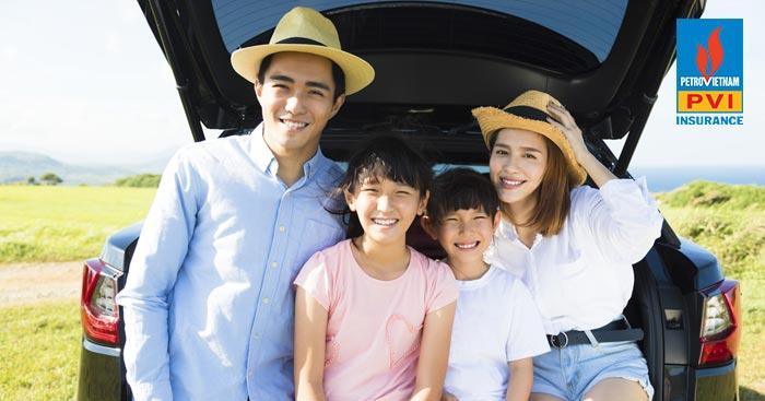 bảo hiểm oto cùng gia đình